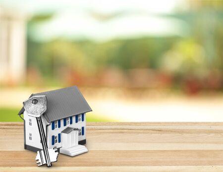 artificial model: House Key.