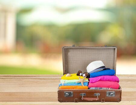 traveling: Traveling bag.