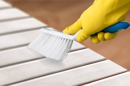 Cleaning. Фото со стока