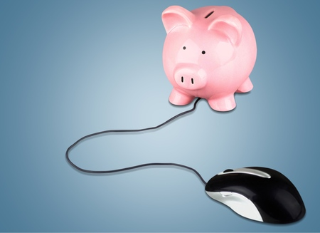 electronic banking: Electronic Banking. Stock Photo