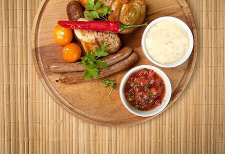 german food: German food. Stock Photo