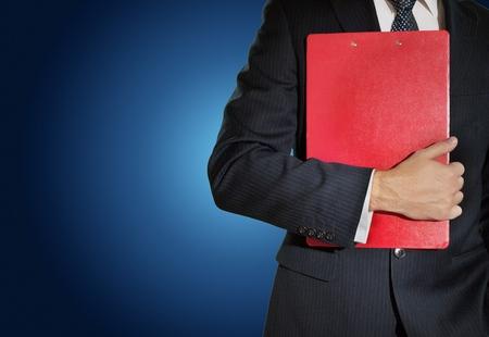 informe comercial: Business Report. Foto de archivo