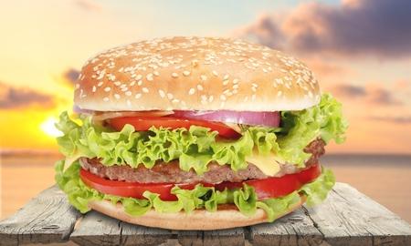 hamburger: Hamburger.