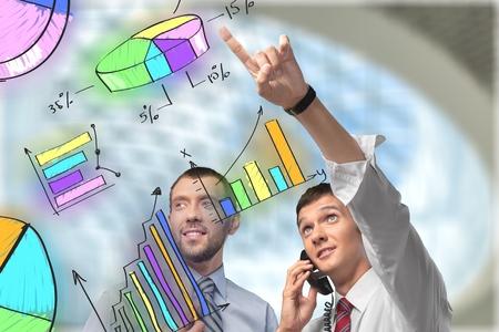 stock image: Stock Market.