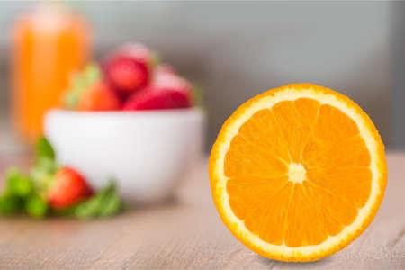 a portion: Orange Portion.