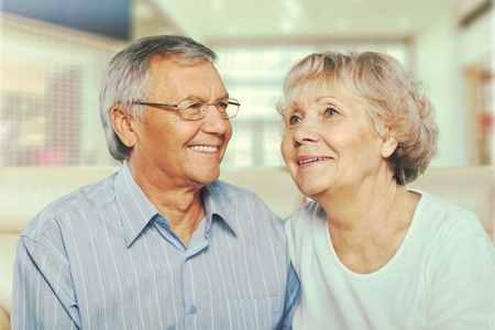 senior adults: Senior Adults. Stock Photo