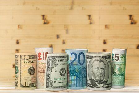 currency exchange: Currency Exchange. Stock Photo