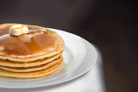 pancake: Pancake. Stock Photo