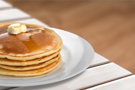 Pancake. Zdjęcie Seryjne