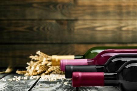 Wine Bottles. Standard-Bild
