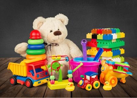 Toys. 版權商用圖片