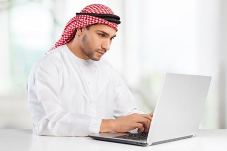 arabic man: Arabic businessman.