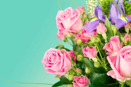 bouquet fleur: Bouquet de fleurs.