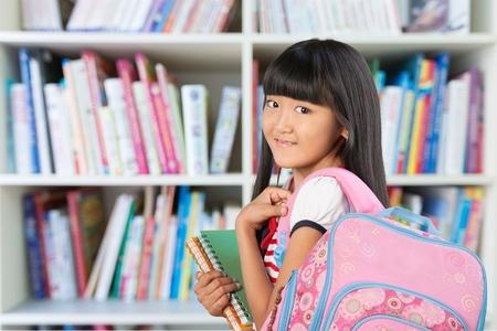 one teenage girl only: Teenage Girl. Stock Photo