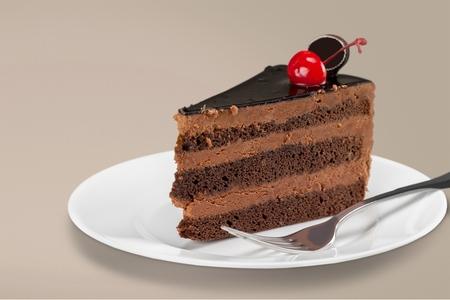 pastel de chocolate: Pastel de chocolate.
