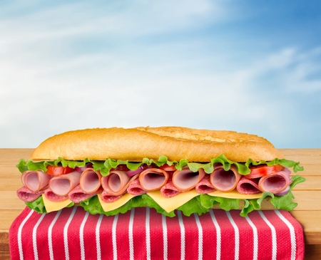 bocadillo: Sandwich.