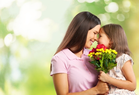 womens: Mothers day. Stock Photo