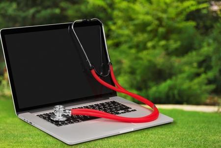 laptop repair: Virus.