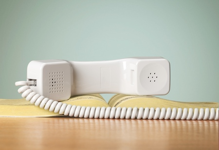 directorio telefonico: Directorio telefónico. Foto de archivo
