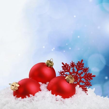 christmas snow: Christmas.