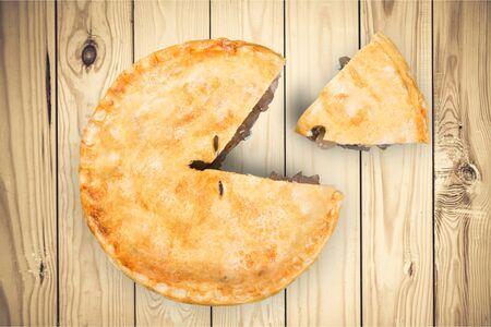 pastry crust: Pie.