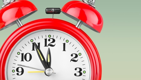 12 o'clock: Clock.