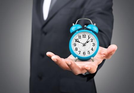 dattes: Temps.  Banque d'images