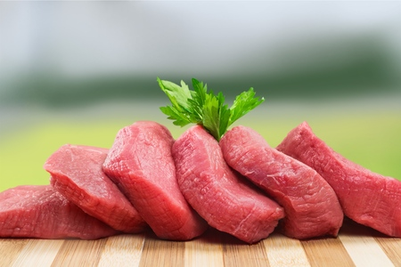 red meat: Meat.