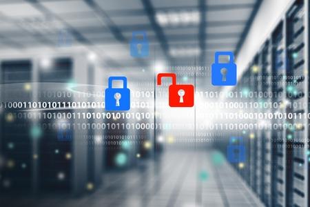 Cable network: Seguridad. Foto de archivo