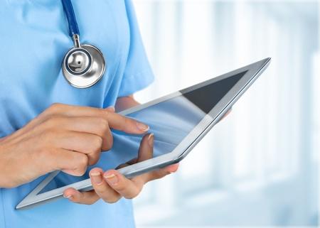 hälsovård: Doktorn. Stockfoto
