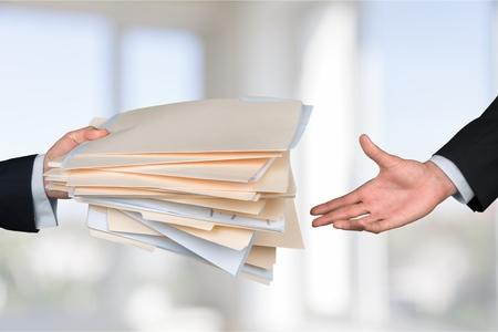 filing document: File. Stock Photo