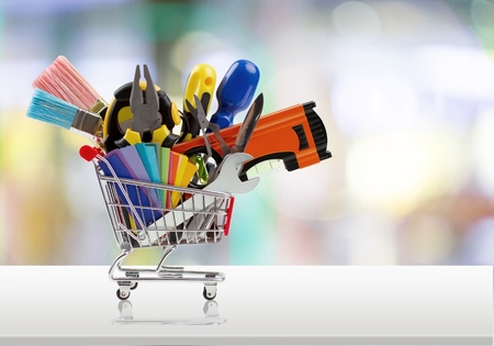 hardware tools: Work Tool. Stock Photo