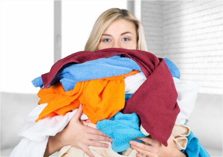 cleaning service: Laundry.