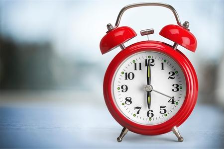 despertador: Reloj despertador. Foto de archivo