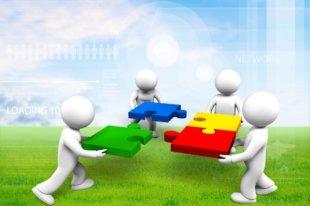 teamwork people: Teamwork. Stock Photo