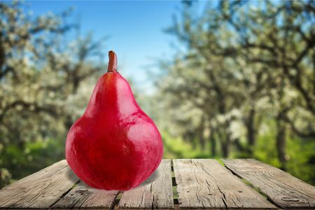 changing form: Pear. Stock Photo