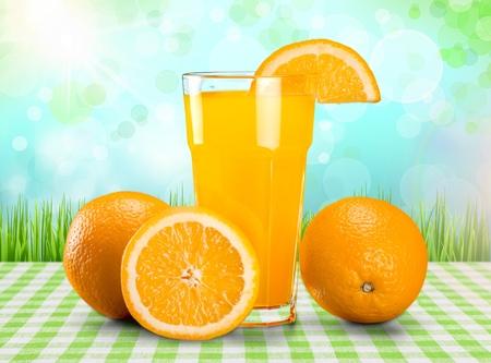 fruit orange: Jugo.