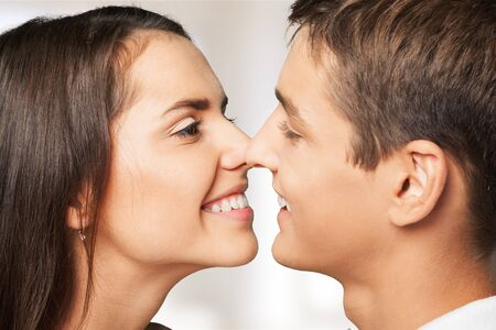 couples in love: Couple. Stock Photo