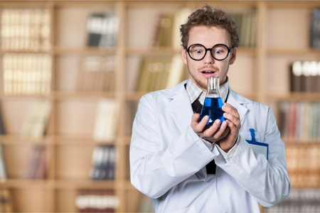 mad girl: Scientist.