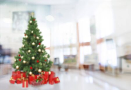 christmas tree presents: Christmas Tree. Stock Photo