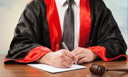 judge hammer: Court.