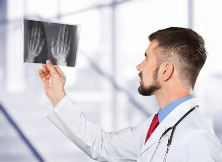 stomatologist: X-ray study. Stock Photo