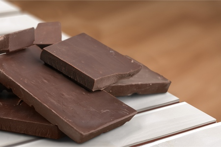dark: Dark Chocolate. Stock Photo