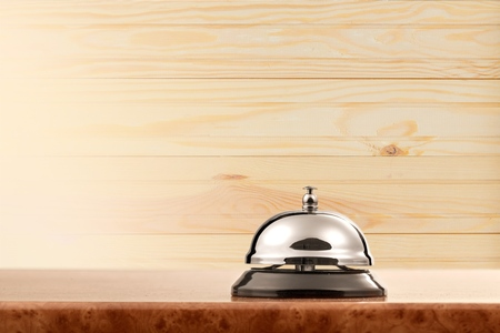 ring tones: Hotel bell. Stock Photo