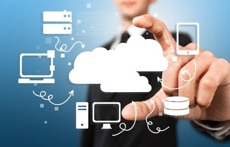red informatica: Nube de red.
