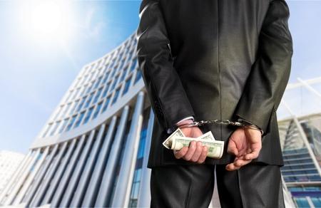 dishonesty: Handcuffs.