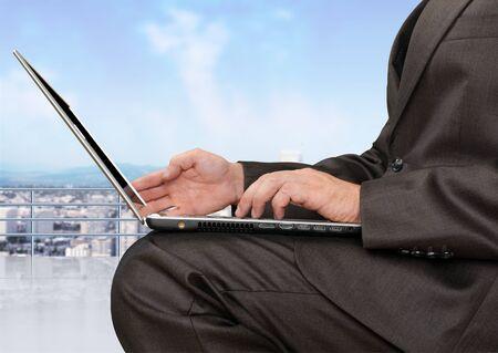 business laptop: Business laptop.