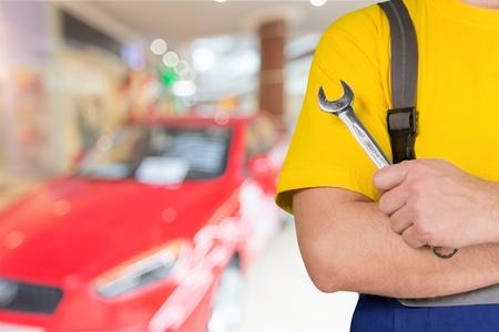auto repair: Auto Repair Shop. Stock Photo