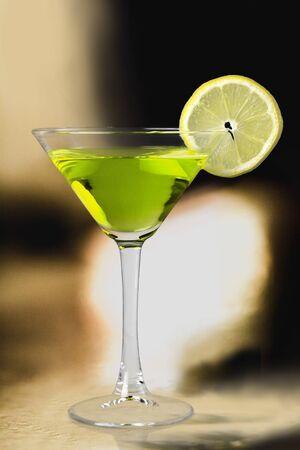margarita cóctel: Cóctel Margarita. Foto de archivo