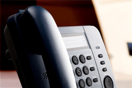 voip: Voip Telephone. Stock Photo